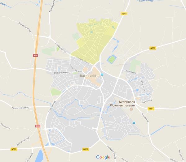 wijkplatform Vliegersveld De Vaarst op de kaart